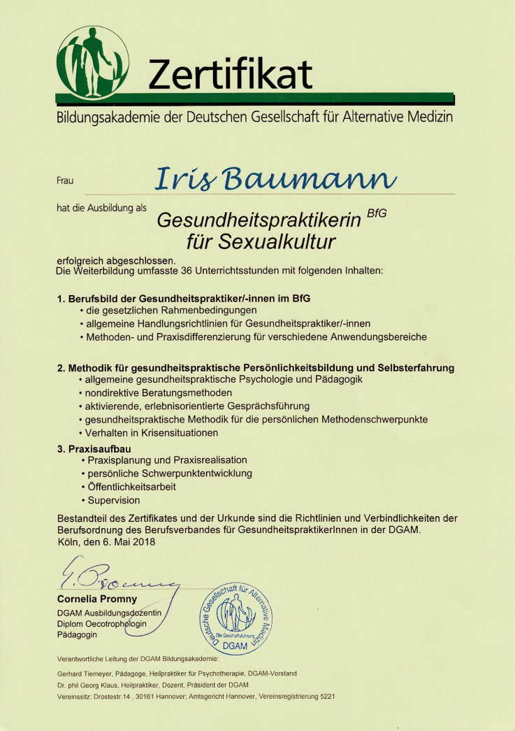 BDGfaM - Paar- und Sexualtherapie Wiesbaden